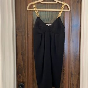 Dress with Gold Chain Strap
